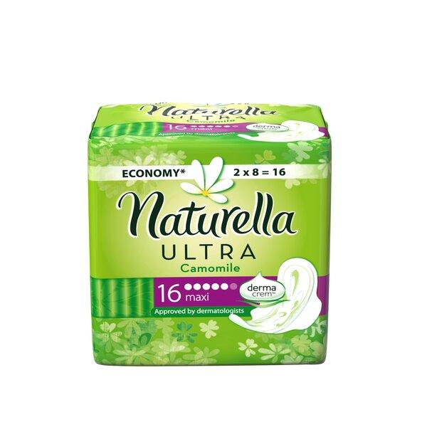 Hügieenisidemed, Naturella Ultra Maxi, 16 tk цена и информация | Hügieenisidemed, tampoonid, isiklik hügieen | kaup24.ee