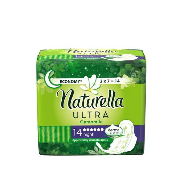 Hügieenisidemed, Naturella Ultra Night, 14 tk hind ja info | Hügieenisidemed, tampoonid, isiklik hügieen | kaup24.ee