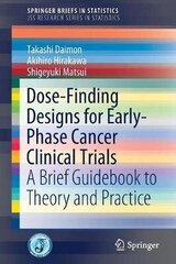 Dose-Finding Designs For Early-Phase Cancer Clinical Trials: A Brief Guidebook To Theory And Practice 2017 1St Ed. 2019 цена и информация | Книги на иностранных языках | kaup24.ee
