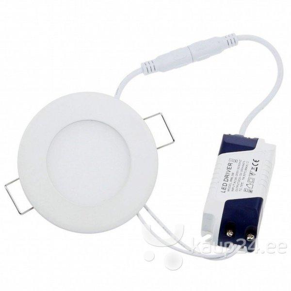 LED paneel LEDlife, 6W neutraalne valge цена и информация | Süvistatavad ja LED valgustid | kaup24.ee