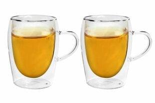 Borosilikaatklaasist klaaside komplekt, 2 tk. hind ja info | Klaasid, tassid ja kannud | kaup24.ee