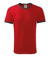 Infinity T-särk Unisex punane hind ja info | Meeste T-särgid | kaup24.ee