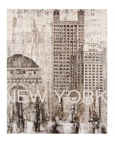 Seinamaal New York I цена и информация | Seinapildid | kaup24.ee