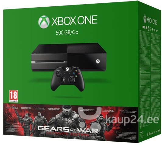 Mängukonsool Microsoft Xbox One 500 GB Gears Of Wa