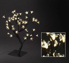 Jõulukaunistus Puu, soe valge valgus, 48 LED