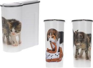 Söögikarp lemmikloomale 4 L, erinevad valikud