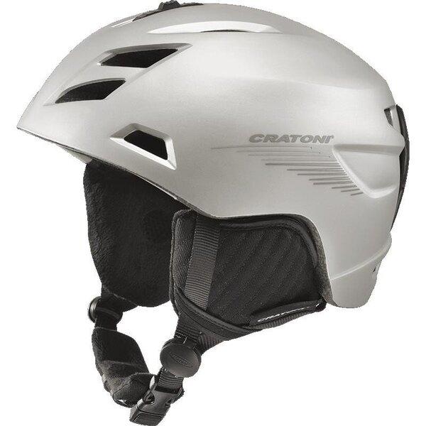 Лыжный шлем CRATONI Tempest Silver Anthracite