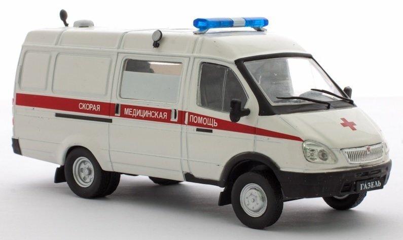 Модель автомобиля GAZ 32214 Газель цена и информация | Poiste mänguasjad | kaup24.ee