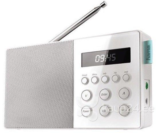 Raadio Hama DR10 DAB+/FM цена и информация | Raadiod ja äratuskellad | kaup24.ee