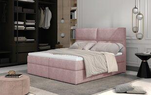 Кровать NORE Amber, 160x200 см, розовая цена и информация | Кровать NORE Amber, 160x200 см, розовая | kaup24.ee