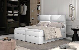 Кровать NORE Amber, 140x200 см, белая цена и информация | Кровать NORE Amber, 140x200 см, белая | kaup24.ee