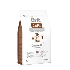 Brit Care Weight Loss Rabbit & Rice 3 kg hind ja info | Kuivtoit koertele | kaup24.ee