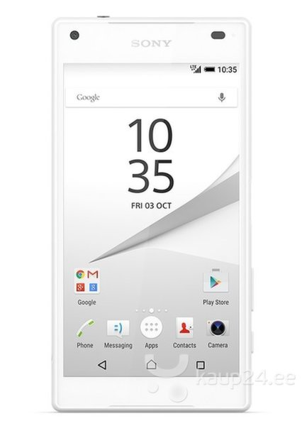 Sony Xperia Z5 Compact valge