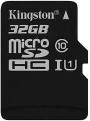 Mälukaart Kingston microSDHC G2 32 GB, 10 klass