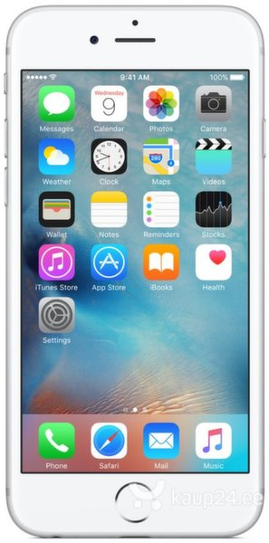 Apple iPhone 6s Plus (16GB), Hõbedane цена и информация | Mobiiltelefonid | kaup24.ee