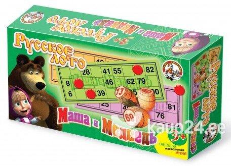 Mäng, Vene loto, Masha ja Karu цена и информация | Arendavad mänguasjad 3+ | kaup24.ee