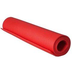 Matkamatt JP 152x61x0.6 cm XPE, punane hind ja info | Matkamadratsid, matkamatid | kaup24.ee