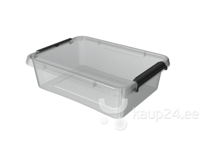 Hoiukast Orplast 8,5 L, Clip-kinnitused цена и информация | Hoiukastid ja pesukorvid | kaup24.ee