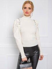 Naiste sviiter Milla, valge hind ja info | Naiste kampsunid | kaup24.ee
