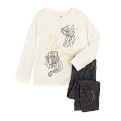 Tüdrukute pidžaama Cool Club Minu Väike Poni (My Little Pony), LUG2119984-00 hind ja info | Tüdrukute hommikumantlid ja pidžaamad | kaup24.ee