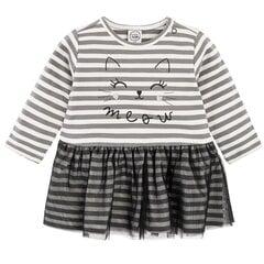 Tüdrukute pikkade varrukatega kleit Cool Club, CCG2100934 hind ja info | Imikute seelikud ja kleidid | kaup24.ee