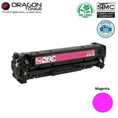 Dragon HP Q6003A / Canon CRG-707 Magenta Красная Тонерная кассета 2K страниц HQ Премиум Аналог