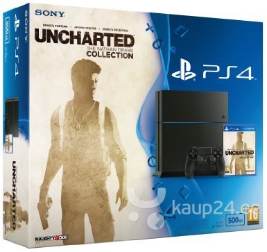 Mängukonsool Sony PlayStation 4 PS4 500 GB Unchar
