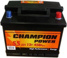 Aku Champion Power 55AH 450A