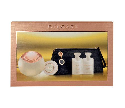 Komplekt Bvlgari Aqva Divina: EDT nastele 65 ml + ihupiim 40 ml + dušigeel 40 ml + seep 150 g + kosmeetikakott цена и информация | Naiste lõhnad | kaup24.ee