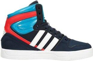 Jalanõud teismelistele Adidas Originals COURT ATTITUDE K Blue Red hind ja info | Spordi- ja vabaajajalatsid meestele | kaup24.ee