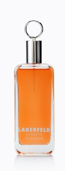 Tualettvesi Karl Lagerfeld Classic EDT meestele 125 ml hind ja info | Meeste lõhnad | kaup24.ee