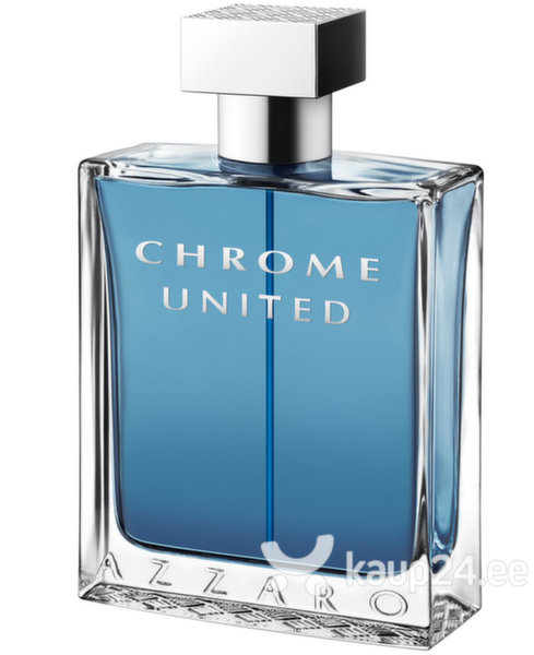 Tualettvesi Azzaro Chrome United EDT meestele 100 ml цена и информация | Meeste lõhnad | kaup24.ee