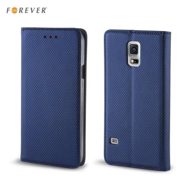 Kaitseümbris Forever Smart Magnetic Fix Book / Samsung Galaxy S6 Edge+ (G928), Sinine цена и информация | Mobiili ümbrised, kaaned | kaup24.ee