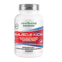VemoHerb Muscle Kick (90 kapslit) hind ja info | Vitamiinid ja toidulisandid | kaup24.ee