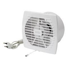 Vannitoa ventilaator EXTRA d100mm kaabli ja ripplülitiga