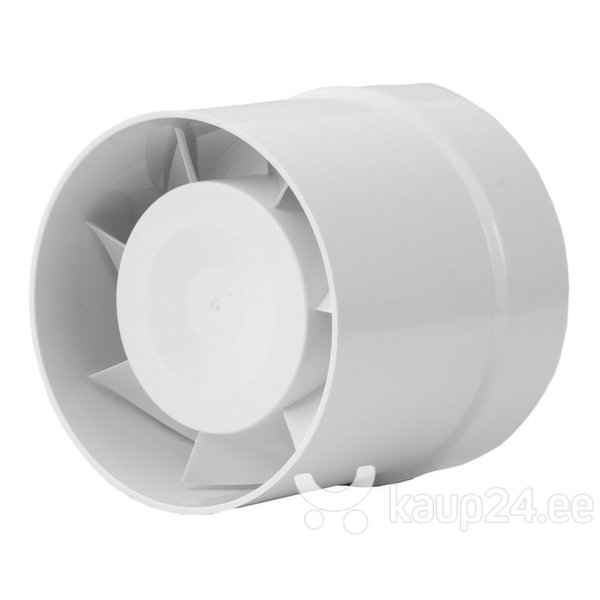 Kanali ventilaator Europlast EXTRA d120mm цена и информация   Vannitoa ventilaatorid   kaup24.ee