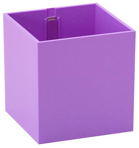 Вазон с магнитом «КУБ», розовый, Ø 9 цена и информация | Dekoratiivsed lillepotid | kaup24.ee