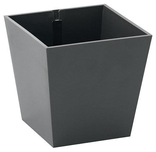 Вазон с магнитом «ПИРАМИДА», темно-серый, Ø 9  цена и информация | Dekoratiivsed lillepotid | kaup24.ee