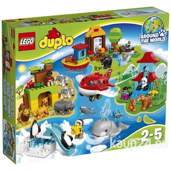 Klotsid Lego Duplo Around the World 10805 цена и информация | Kokkupandavad mänguasjad | kaup24.ee