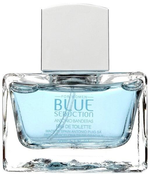 Antonio Banderas Blue Seduction EDT для женщин 50 мл цена и информация | Naiste lõhnad | kaup24.ee