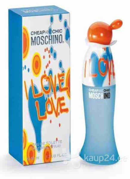 Tualettvesi Moschino Cheap & Chic I Love Love EDT naistele 50ml hind
