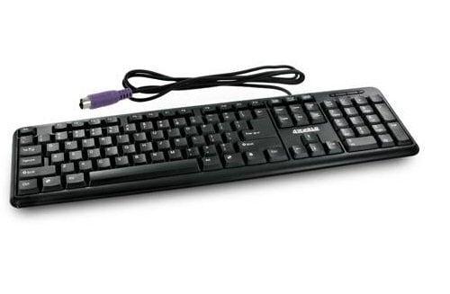 Juhtmega klaviatuur 4WORLD PS/2