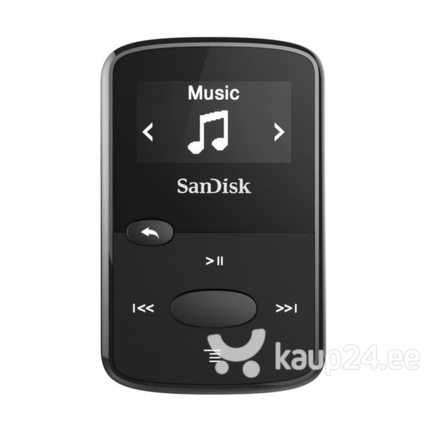 SANDISK Mp3 mängija 8GB Clip JAM Black цена и информация | MP3-mängija, MP4-mängija | kaup24.ee