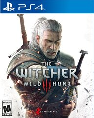 The Witcher 3: Wild Hunt, PS4