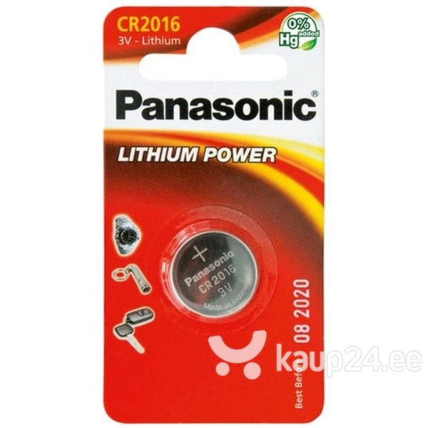 Батарейка Panasonic LITHIUM CR2016 – 1BP