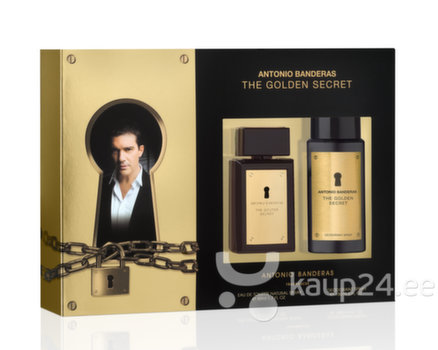 Komplekt Antonio Banderas The Golden Secret EDT mee