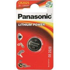 Panasonic patarei Lithium CR2025 1BP, 1 tk