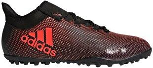 Jalanõud Adidas X Tango 17.3 TF Red Black hind ja info | Jalgpallijalatsid | kaup24.ee