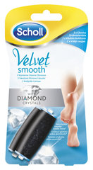 Jalaviili SCHOLL Velvet Smooth Regular with Diamonds lisaotsikud, 2tk
