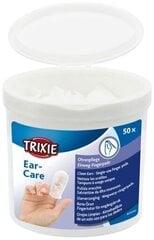 Puuvillased padjad-sõrmkübarad lemmiklooma kõrvade hooldamiseks Trixie, 50 tk hind ja info | Puuvillased padjad-sõrmkübarad lemmiklooma kõrvade hooldamiseks Trixie, 50 tk | kaup24.ee